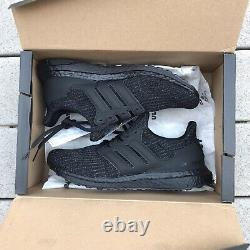 Adidas Men's Running Ultraboost 4.0 DNA Shoes Black/Core Black/Active Red Size 9