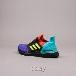Adidas Running Ultra Boost 20 Black Multicolor What The Ultraboost New FV8332