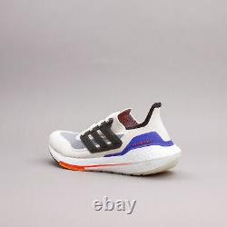 Adidas Running Ultraboost 21 White Carbon Workout gym Shoes New Men S23869