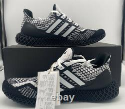 Adidas Ultra 4D 5.0 Running Boost Cookies Oreo Black White G58158 Shoe Mens Size