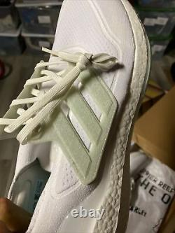 Adidas Ultra Boost 21 Men's size 10 White Parley $180