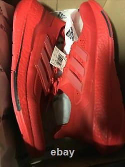 Adidas Ultra Boost 21 Men's size 12 red $180