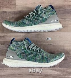 Adidas Ultra Boost Grey Multi-Color Mid Men's 8.5 / Wmns 10 Running Shoes G26844