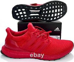 Adidas Ultra Boost Scarlet Triple Red Running Shoes FY7123 Primeknit Size's 9-12