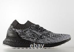 Adidas Ultra Boost Uncaged Black White Grey Size 9. S80698 nmd pk yeezy