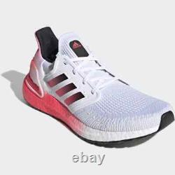 Adidas Ultra Boost White Black Pink S77416 Running Shoes