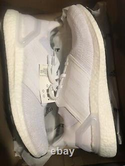 Adidas Ultra boost 20 Men's size 12 Cloud White Out $180