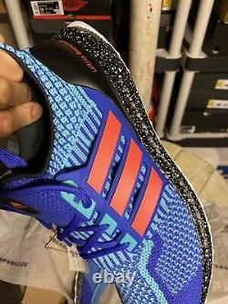 Adidas Ultra boost DNA 5.0 Men's size 14 Sonic Blue Black $180 Retail