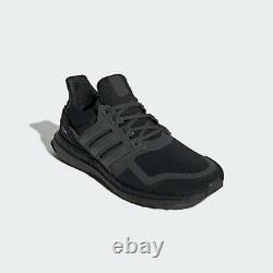Adidas UltraBOOST S&L Mens Running Shoes Black Boost Trainers EF1361 SIZE 8 8.5