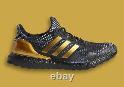 Adidas UltraBoost DNA Shoes Patrick Mahomes Black Gold White H02868 Men's NEW