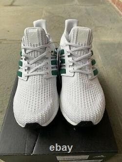 Adidas Ultraboost 4.0 DNA White Green Size 11.5 New Rare Sold Out OG Yeezy