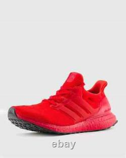 Adidas Ultraboost DNA Running Shoes Scarlet Red Black FY7123 Size 8-13 New