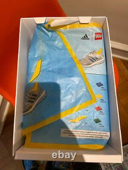 New! ADIDAS Sz 12 ULTRABOOST DNA X LEGO PLATES SHOES Sold Out In Hand. FY7690