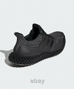 New Adidas UltraBoost 4D 5.0 Running Shoes Sneakers (G58160) Black Carbon