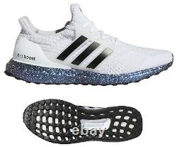 New adidas Ultra Boost DNA 5 Mens athletic sneaker casual shoes white size 12