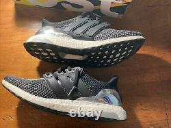 Size 11.5 Adidas Ultra Boost 2.0 Silver Medal LTD Olympic Pack BB4077