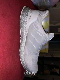 Size 12 adidas UltraBoost 3.0 Limited Silver Boost 2017 BA8922