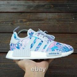 Women Size 7.5 / Size 6 Youth adidas NMD R1 Easter Boost Running ultra Shoes