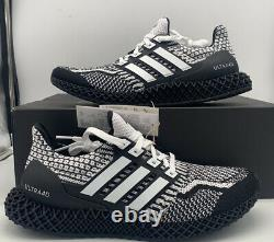Adidas Ultra 4d 5.0 Boost De Course Cookies Oreo Noir Blanc G58158 Chaussures Hommes Taille