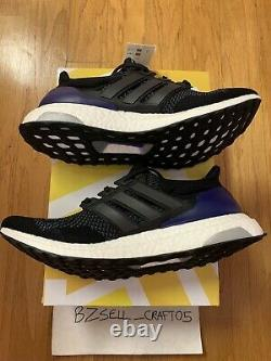 Adidas Ultra Boost 1.0 Og Core Black/purple Taille 9.5 G28319 2018