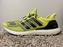 Adidas Ultra Boost 1.0, S77414, Solar Yellow, Chaussures De Course Pour Hommes, Taille 14