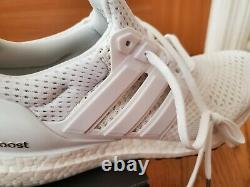 Adidas Ultra Boost 1.0 Triple Blanc Taille 8 Et 8.5 S77416