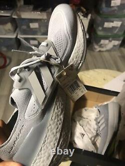 Adidas Ultra Boost 21 Taille Homme 12 Halo Silver Grey 180 $