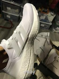 Adidas Ultra Boost 21 Taille Homme 14 Triple Blanc 180 $
