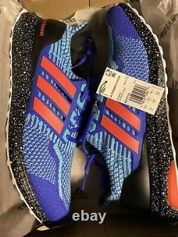 Adidas Ultra Boost Dna 5.0 Taille Homme 14 Sonic Blue Black 180 $ Détail