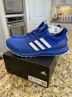 Adidas Ultra Boost Kansas Jayhawks 1.0 Royal Blue Dna Chaussures #fy5808 Taille 16