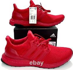 Adidas Ultra Boost Scarlet Triple Rouge Chaussures De Course Fy7123 Primeknit Taille 9-12