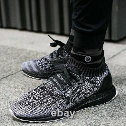 Adidas Ultra Boost Uncaged Black White Grey Taille 9. S80698 Nmd Pk Yeezy