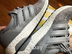 Adidas Ultraboost 1.0 Laine Gris 2015 Hommes Taille 9.5 S77510