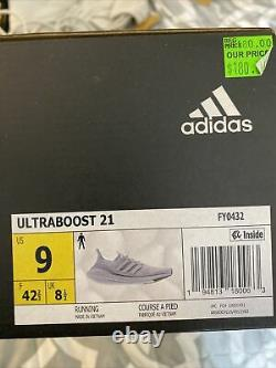 Adidas Ultraboost 21'halo Silver' Fy0432 Taille Homme 9