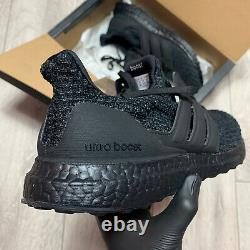 Adidas Ultraboost 4.0 Triple Black Trainers Taille Uk 10 F36641