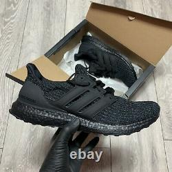 Adidas Ultraboost 4.0 Triple Black Trainers Taille Uk 8.5 F36641