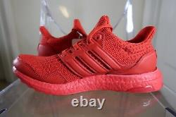 Adidas Ultraboost Dna S&l (taille Femme 7.5) Chaussures De Course Triple Red Sneaker Ds