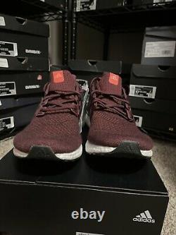 Hommes Adidas Ultraboost Ultra Boost 1.0 Taille 10 Bourgogne Maroon Af5836 Courir