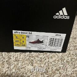 Hommes Adidas Ultraboost Ultra Boost 1.0 Taille 9.5 Bourgogne Maroon Af5836 Courir