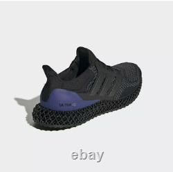 Nouveau Adidas Ultra Boost 4d Ultra4d Running Black/purple Fw7089 Hommes Taille 9.5