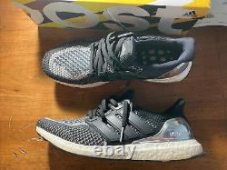 Taille 11.5 Adidas Ultra Boost 2.0 Médaille D'argent Ltd Pack Olympique Bb4077